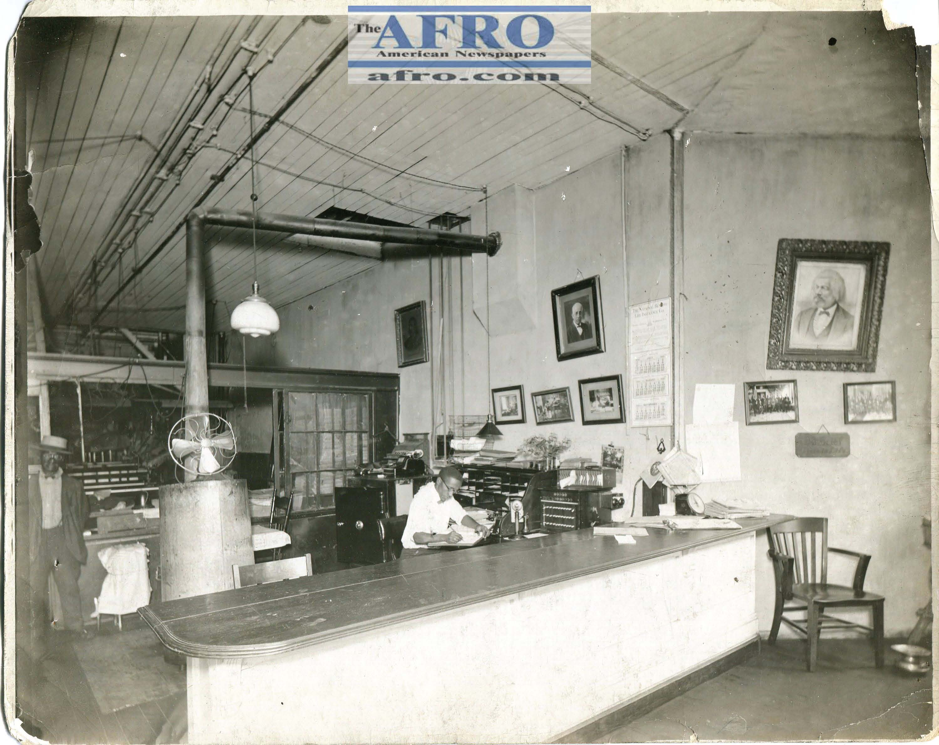Afro Business and Circulation Office - 1920